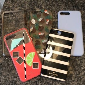 5 - 8 Plus I Phone Cases - Kate Spade and Otterbox
